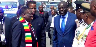 President Edgar Lungu and his Zimbabwean counterpart Emerson Mnangagwa