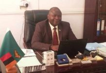 Luapula Province Health Director Peter Bwalya