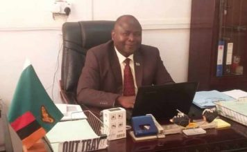 Luapula Province Health Director Peter Bwalya