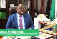 Ministry of Information and Broadcasting Permanent Secretary Amos Malupenga